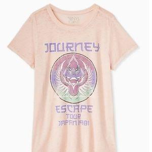 Torrid - BNWT Pink Journey Tee 00X